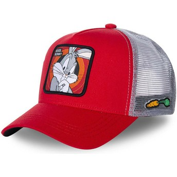 Casquette trucker rouge Bugs Bunny BUG1 Looney Tunes Capslab