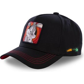 Casquette courbée noire snapback Bugs Bunny BUG2 Looney Tunes Capslab