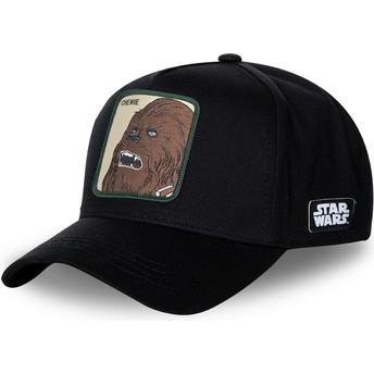 Casquette courbée noire snapback Chewbacca CHE3 Star Wars Capslab