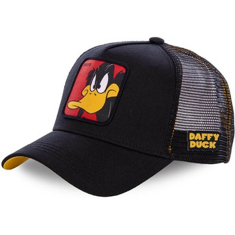 Casquette trucker noire Daffy Duck DAF1 Looney Tunes Capslab