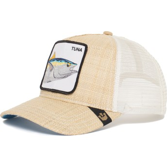 Casquette trucker marron thon Big Fish Goorin Bros.
