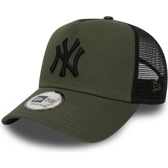 Casquette trucker verte League Essential A Frame New York Yankees MLB New Era