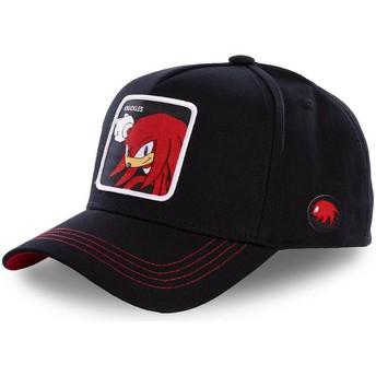 Casquette courbée noire snapback Knuckles the Echidna KNUB Sonic the Hedgehog Capslab