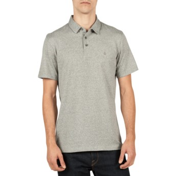 Polo à manche courte gris Wowzer Navy Heather Volcom