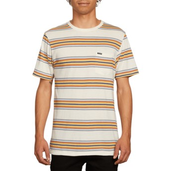 T-shirt à manche courte blanc Idle White Flash Volcom
