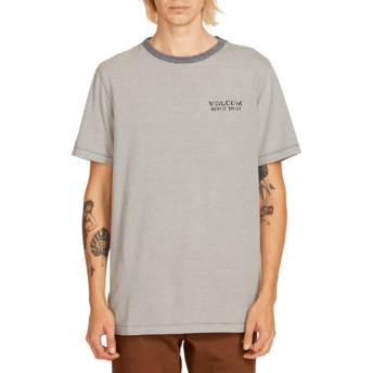 T-shirt à manche courte bleu marine Feeder Indigo Volcom