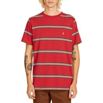 T-shirt à manche courte rouge Beauville Burgundy Volcom