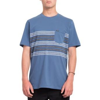 T-shirt à manche courte bleu marine Forzee Indigo Volcom