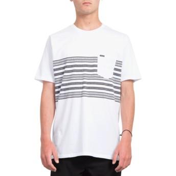 T-shirt à manche courte blanc Forzee White Volcom