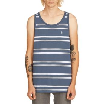 T-shirt sans manches bleu marine Beauville Indigo Volcom