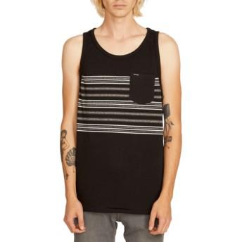 T-shirt sans manches noir Forzee Black Volcom