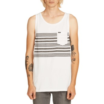 T-shirt sans manches blanc Forzee White Volcom