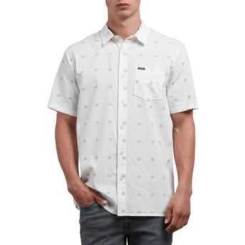 Chemise à manche courte blanche Trenton White Volcom
