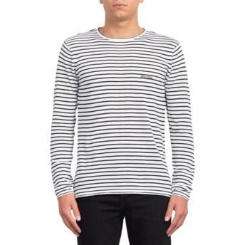 Sweat-shirt blanc Harweird Stripe II White Volcom