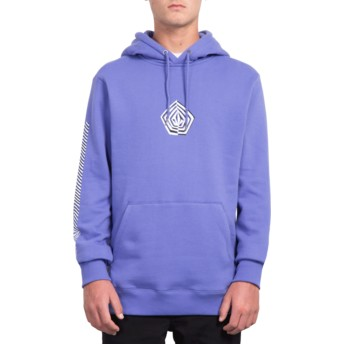 Sweat à capuche violet Deadly Family Stone Dark Purple Volcom
