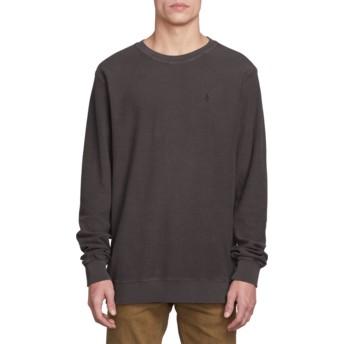 Sweat-shirt noir Sub Void Black Volcom