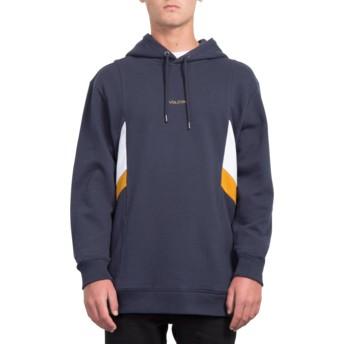 Sweat à capuche bleu marine Wailes Navy Volcom