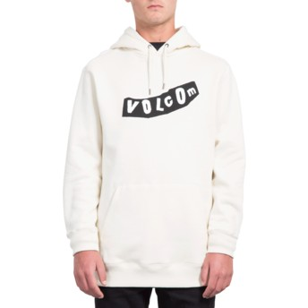 Sweat à capuche blanc General Stone Off White Volcom