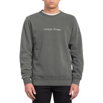 Sweat-shirt noir Lucid State Black Volcom