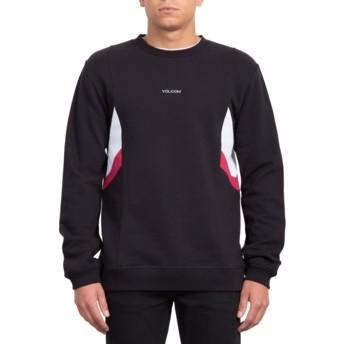 Sweat-shirt noir Wailes Black Volcom