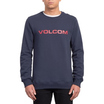 Sweat-shirt bleu marine Imprintz Navy Volcom