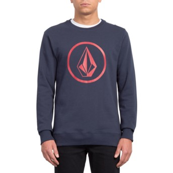 Sweat-shirt bleu marine Stone Navy Volcom