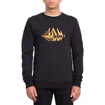 Sweat-shirt noir General Stone Black Volcom