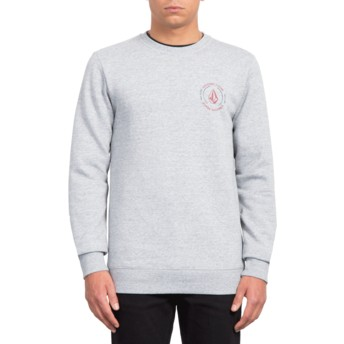 Sweat-shirt gris General Stone Storm Volcom
