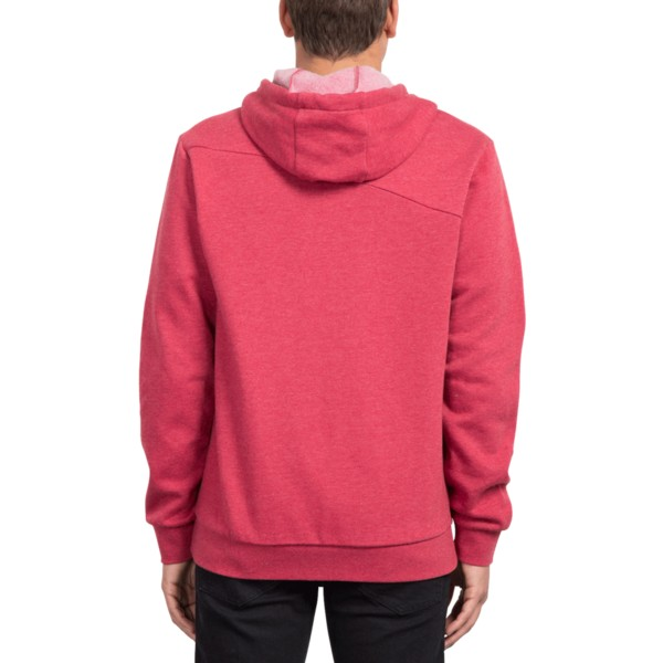 sweat-a-capuche-et-fermeture-eclair-rouge-iconic-burgundy-heather-volcom