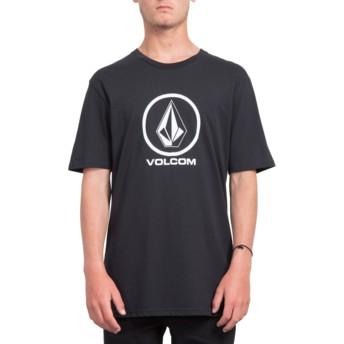 T-shirt à manche courte noir Crisp Stone Black Volcom