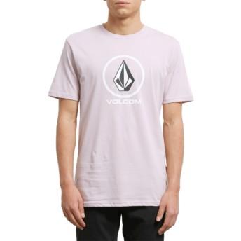 T-shirt à manche courte violet Crisp Stone Pale Rider Volcom
