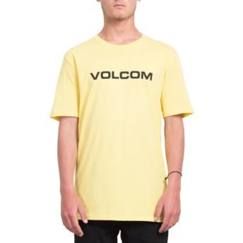 T-shirt à manche courte jaune Crisp Euro Yellow Volcom