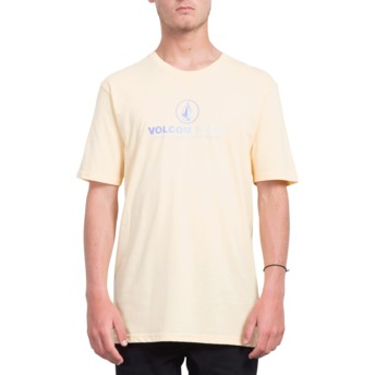 T-shirt à manche courte orange Super Clean Light Peach Volcom