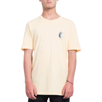 T-shirt à manche courte orange Peace Off Light Peach Volcom