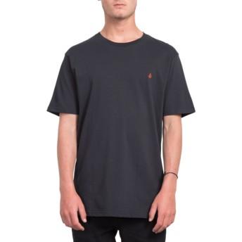 T-shirt à manche courte noir Stone Blank Black Volcom