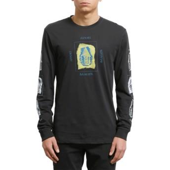 T-shirt à manche longue noir Avoid Black Volcom