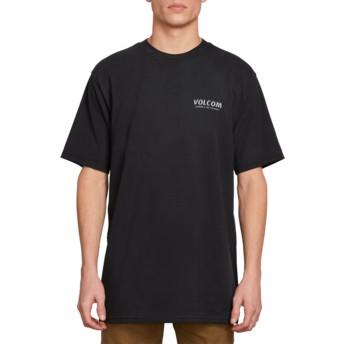 T-shirt à manche courte noir Wheat Paste Black Volcom