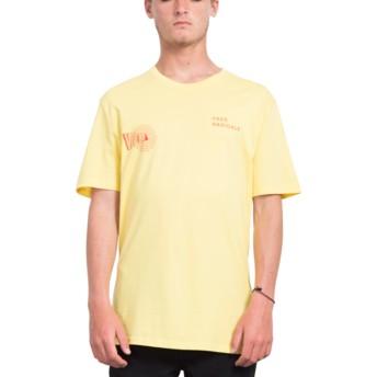 T-shirt à manche courte jaune Free Yellow Volcom