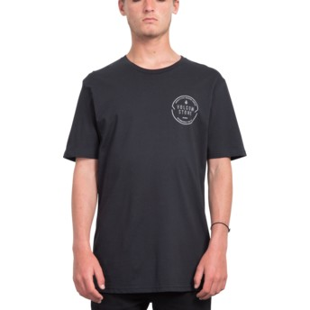 T-shirt à manche courte noir Chop Around Black Volcom