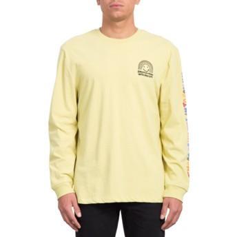 T-shirt à manche longue jaune Ozzy Rainbow Lime Volcom