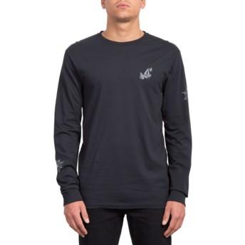 T-shirt à manche longue noir Lopez Web Black Volcom