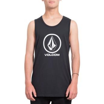 T-shirt sans manches noir Crisp Stone Black Volcom