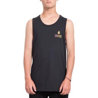 T-shirt sans manches noir Peace Is Progess Black Volcom