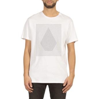 T-shirt à manche courte blanc Ripple White Volcom