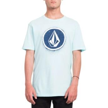 T-shirt à manche courte bleu Spray Stone Pale Aqua Volcom