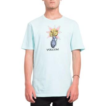 T-shirt à manche courte bleu Volcom Grenade Pale Aqua Volcom