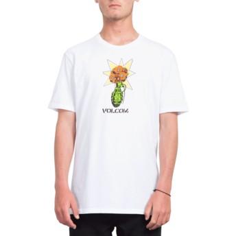 T-shirt à manche courte blanc Volcom Grenade White Volcom