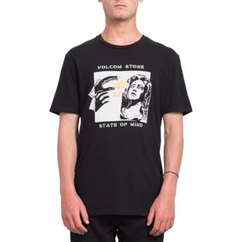 T-shirt à manche courte noir State Of Mind Black Volcom