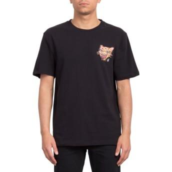 T-shirt à manche courte noir Ozzy Tiger Black Volcom