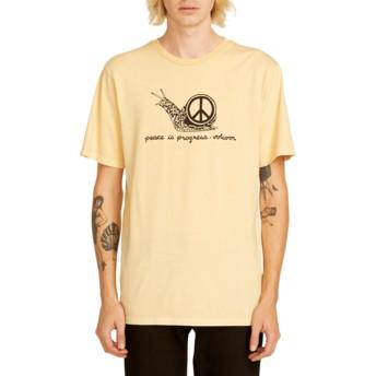 T-shirt à manche courte orange Peace Is Progress Light Peach Volcom